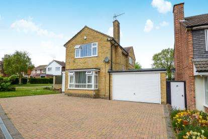 3 Bedrooms Detached House for sale in Parkland Drive, Luton, Bedfordshire