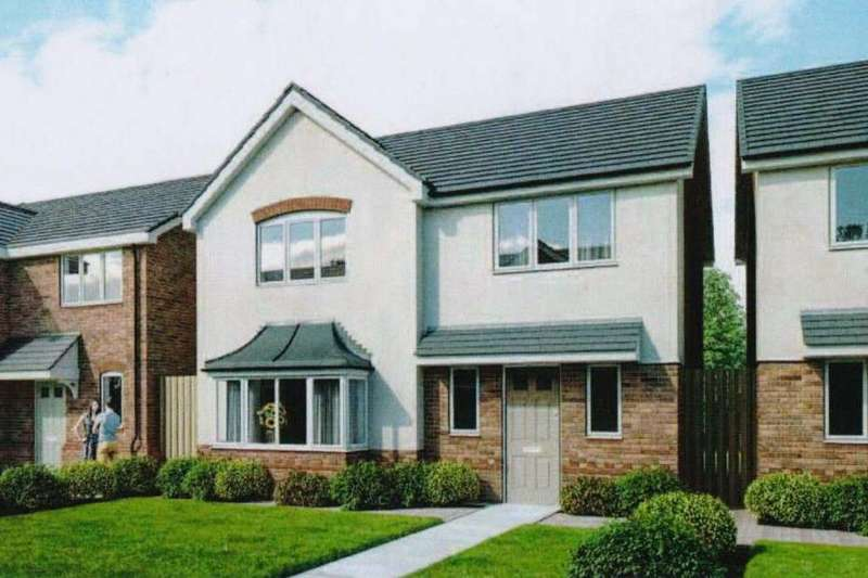 4 Bedrooms Detached House for sale in Stansty Walks, Wrexham