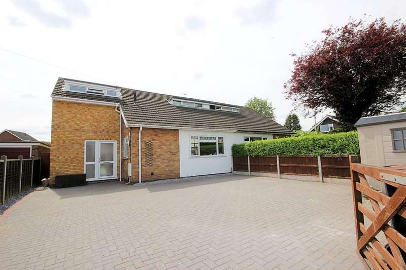 3 Bedrooms Detached Bungalow for sale in The Green, Long Whatton
