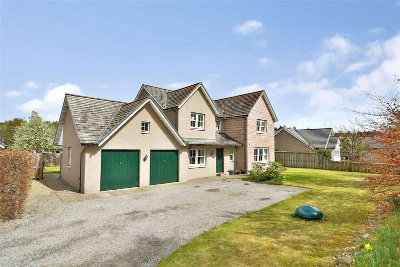 5 Bedrooms Detached House for sale in 5 Burnside Walk, Aboyne, Aberdeenshire, AB34