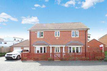 4 Bedrooms Detached House for sale in Thistle Close, Highweek, Newton Abbot , TQ12 1ST