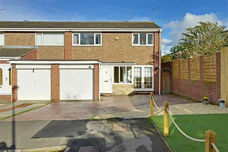 3 Bedrooms Semi Detached House for sale in Sandling Court, Marton