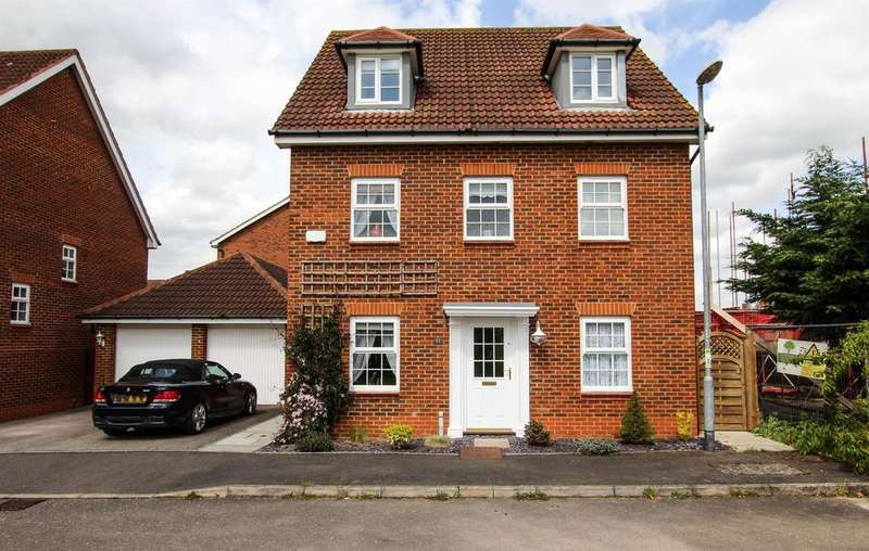 5 Bedrooms Detached House for sale in Nicholson Drive, Leighton Buzzard