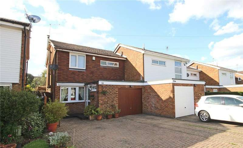 3 Bedrooms Semi Detached House for sale in Crawley Close, Slip End, Luton, Bedfordshire