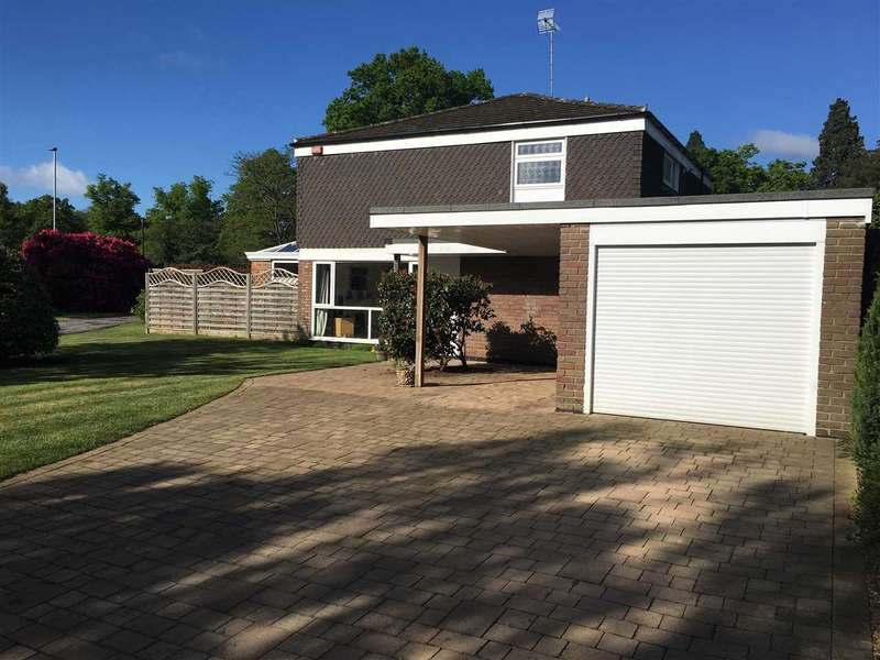4 Bedrooms Detached House for sale in Wellesley Drive, Crowthorne