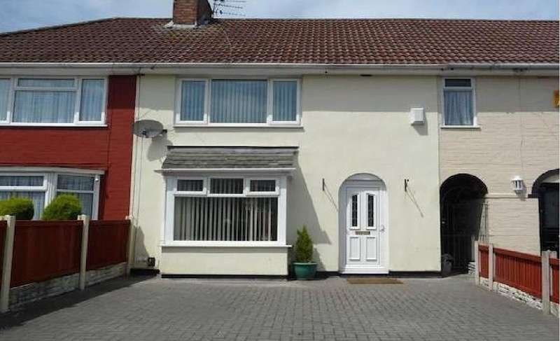 3 Bedrooms Terraced House for rent in Branstree Avenue Liverpool Merseyside