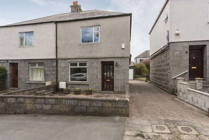 3 Bedrooms Semi Detached House for sale in Elmfield Terrace, Aberdeen, AB24 3NY