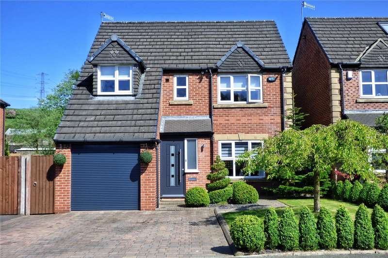 4 Bedrooms Detached House for sale in Shottwood Fold, Littleborough, Rochdale, OL15