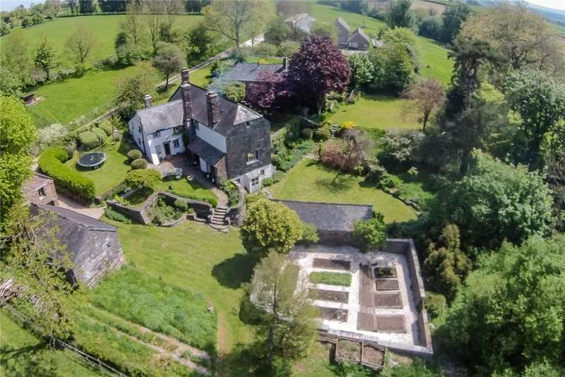 5 Bedrooms Farm House Character Property for sale in Stawley, Wellington, Somerset, TA21