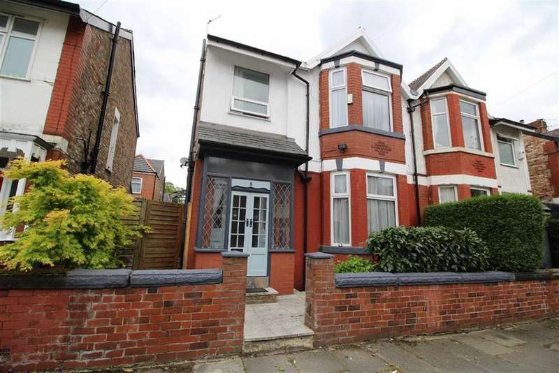 3 Bedrooms Semi Detached House for sale in Manor Avenue, Whalley Range