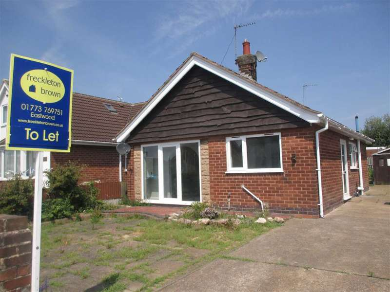 2 Bedrooms Detached Bungalow for rent in Cherry Tree Close, Brinsley, Nottingham