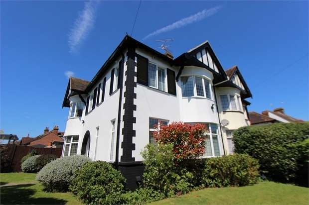 4 Bedrooms Semi Detached House for sale in 1 Taunton Drive, WESTCLIFF-ON-SEA, Essex
