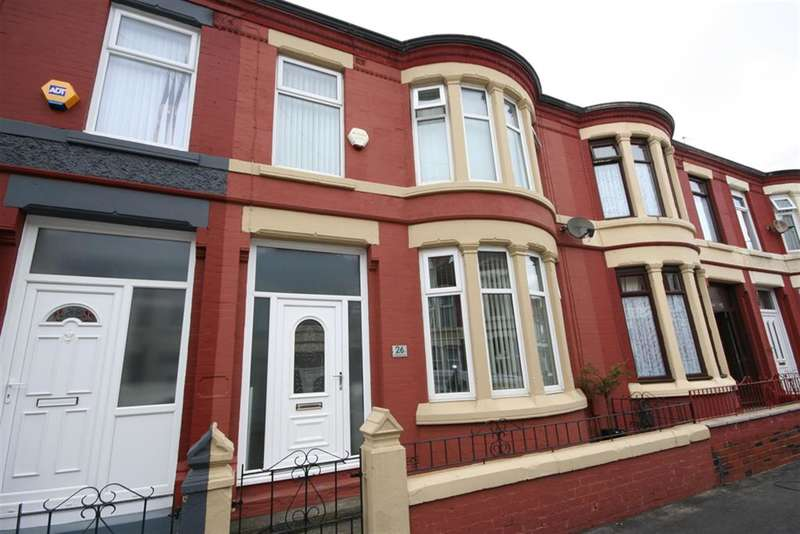 3 Bedrooms Terraced House for sale in Hartismere Road, Wallasey, CH44 9DU