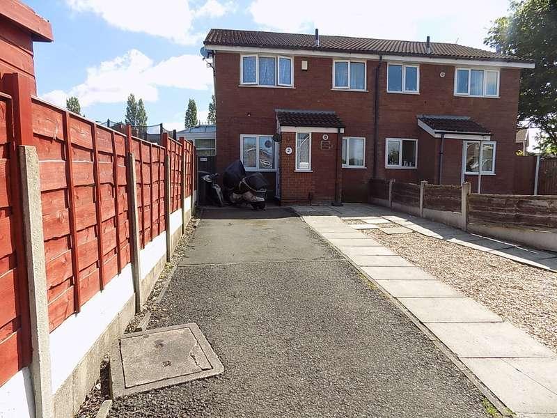 1 Bedroom Terraced House for sale in Muirfield Close, Fearnhead, Warrington, WA2
