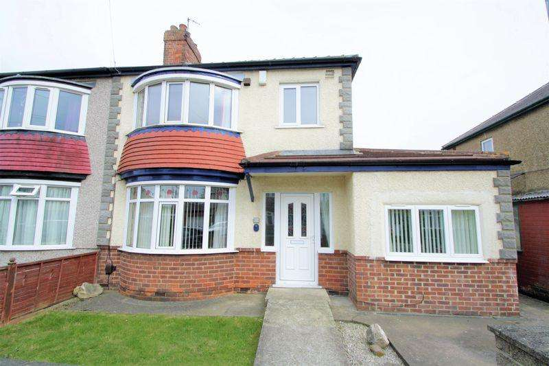 3 Bedrooms Semi Detached House for sale in Burford Avenue, Hartburn, Stockton-On-Tees, TS18 3QD