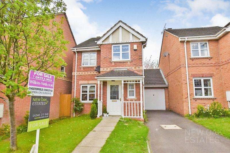 3 Bedrooms Detached House for sale in Rose Garth Close, Spital, Chesterfield
