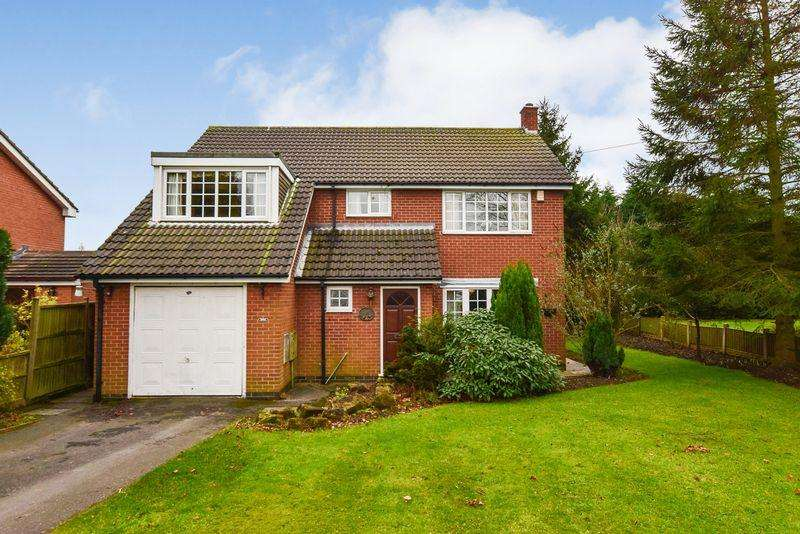 4 Bedrooms Detached House for sale in Birkinstyle Lane, Shirland, Alfreton