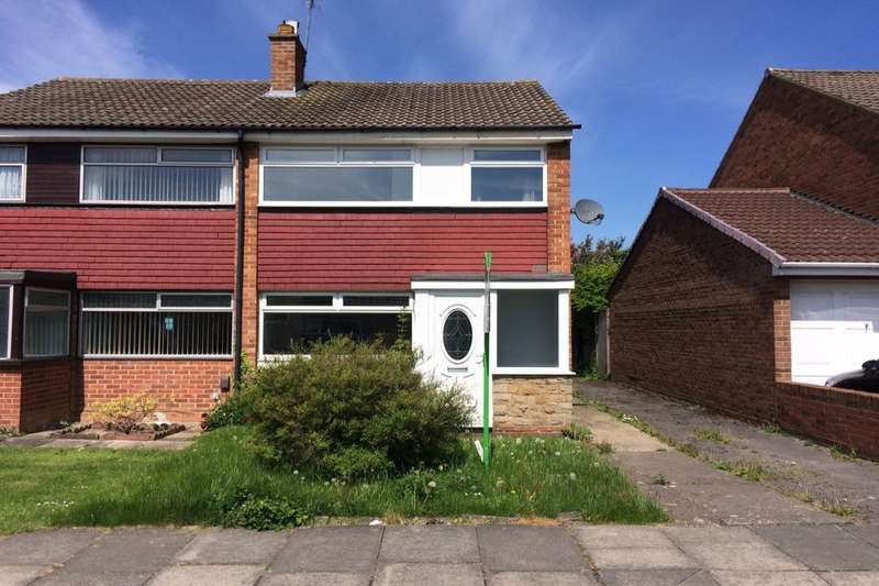 3 Bedrooms Semi Detached House for sale in Marykirk Road, Thornaby, Stockton-On-Tees, TS17