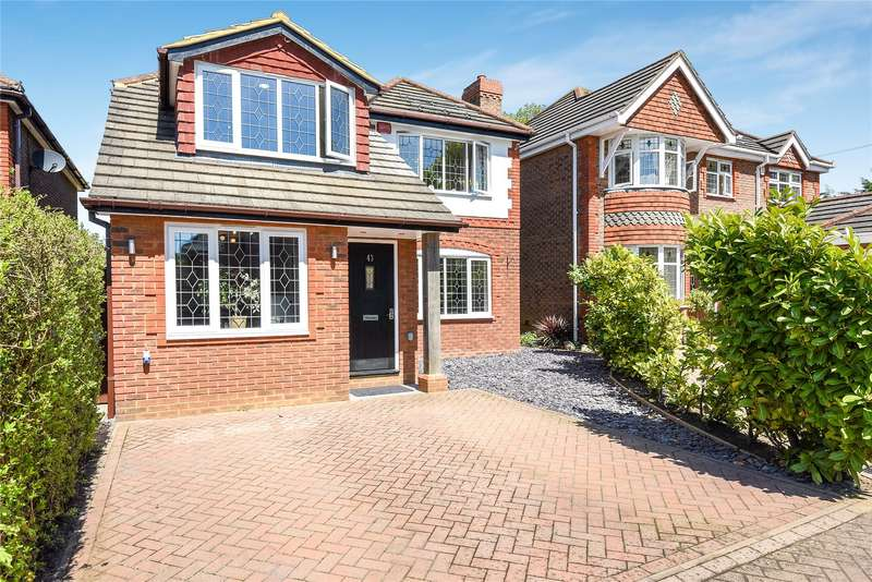 4 Bedrooms Detached House for sale in Huson Road, Warfield, Berkshire, RG42
