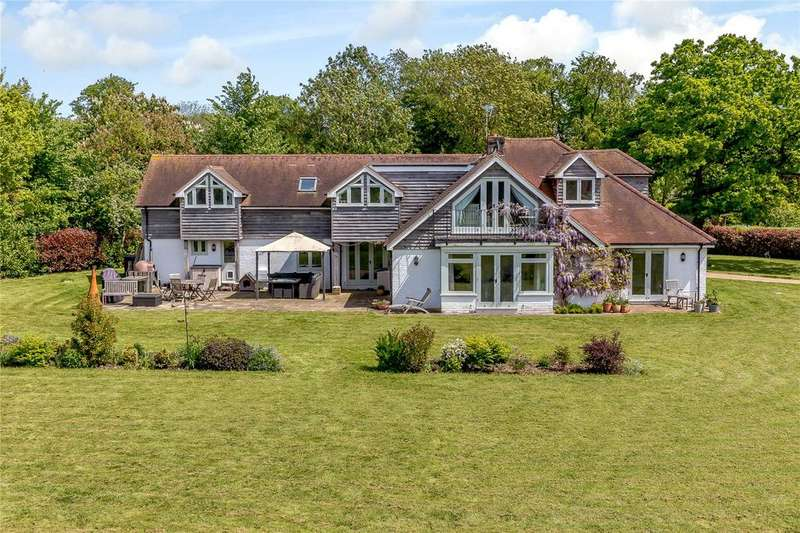 5 Bedrooms Detached House for sale in Mill Road, West Ashling, Chichester, West Sussex