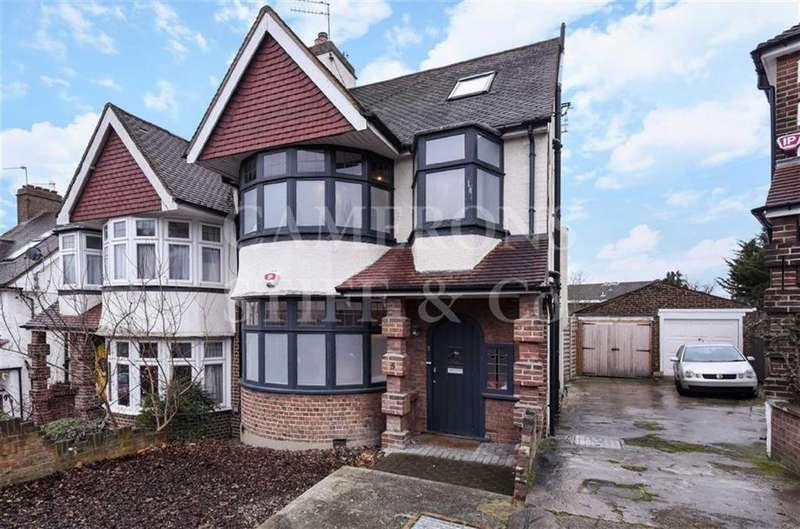 4 Bedrooms Semi Detached House for sale in Hillcrest Gardens, Dollis Hill, London, NW2