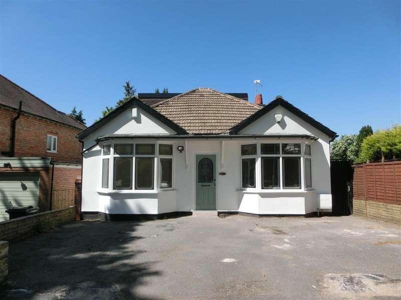 4 Bedrooms Detached Bungalow for sale in Burnaston Road, Hall Green, Birmingham