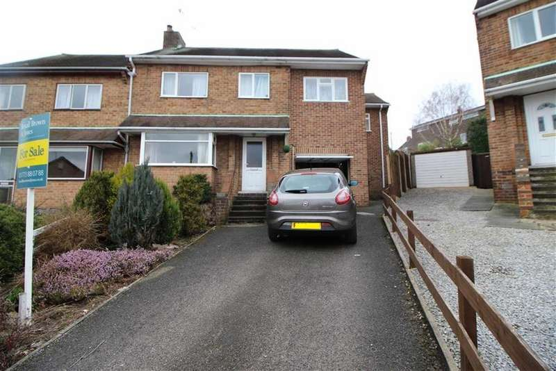 5 Bedrooms Semi Detached House for sale in Charnwood Ave, Belper, Derbyshire
