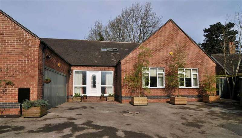 5 Bedrooms Detached House for sale in The Close, Arlington Road, Littleover, Derby