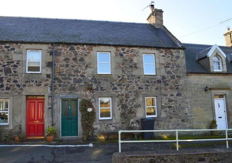 2 Bedrooms Cottage House for sale in Main Street, Allanton, Duns, Berwickhire, Scottish Borders