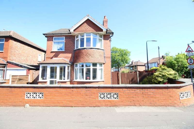 3 Bedrooms Detached House for sale in Davyhulme Road East, Stretford, Manchester, M32