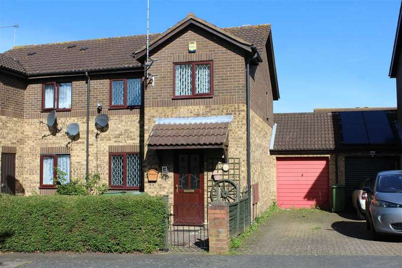3 Bedrooms Semi Detached House for sale in Great Holm, Milton Keynes