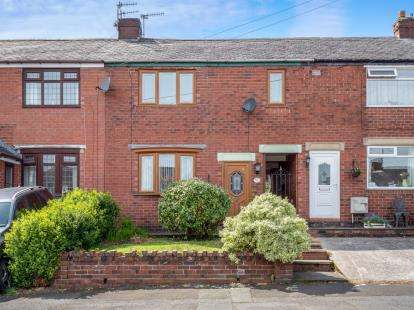 3 Bedrooms Terraced House for sale in Chamberlain Road, Heyrod, Stalybridge, Cheshire