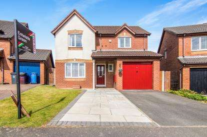 3 Bedrooms Detached House for sale in Lexington Way, Kirkby, Liverpool, Merseyside, L33