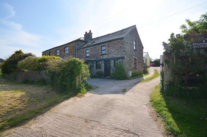 3 Bedrooms Barn Conversion Character Property for sale in Penwinnick Court, St. Agnes