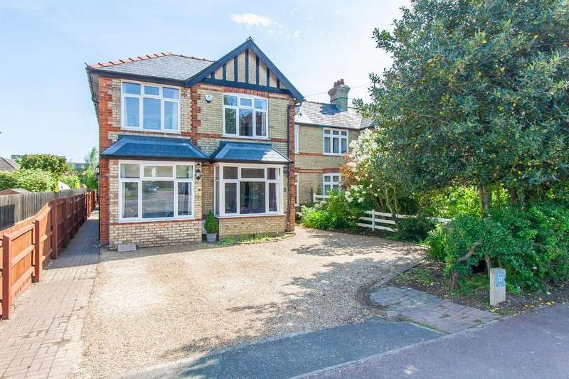 5 Bedrooms Semi Detached House for sale in Shelford Road, Trumpington