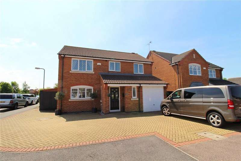 4 Bedrooms Detached House for sale in Whitsed Road, Newborough, Peterborough, Cambridgeshire, PE6