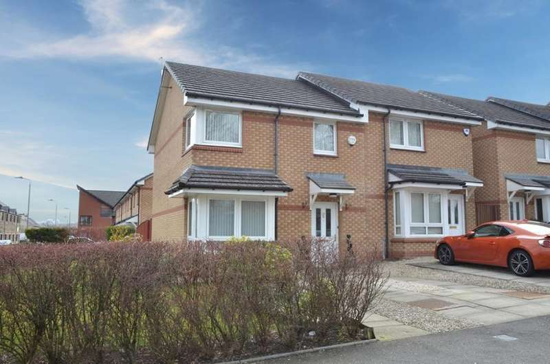 3 Bedrooms Semi Detached House for sale in 28B Collier Street, Johnstone, PA5 8AR