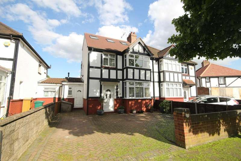 4 Bedrooms Semi Detached House for sale in Princes Park Lane, Hayes, UB3 1JY