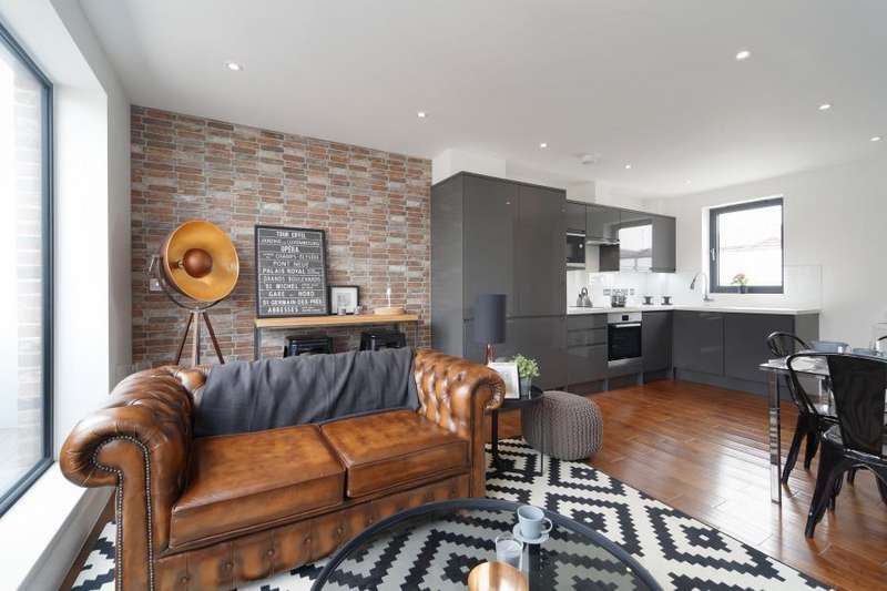 2 Bedrooms Apartment Flat for sale in Vyner Street, London, E1