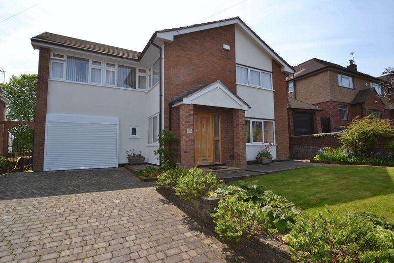 4 Bedrooms Detached House for sale in Croome Drive, West Kirby