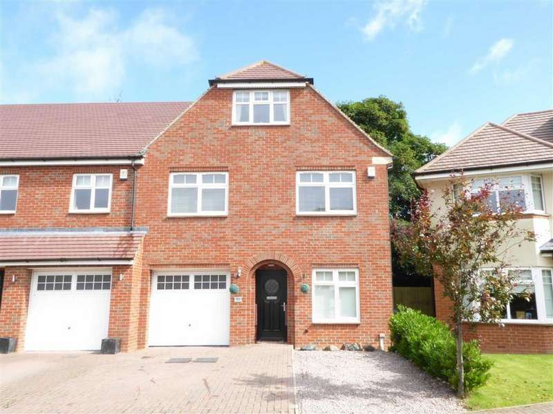 4 Bedrooms Town House for sale in Winkadale Close, Bushby, Leicester