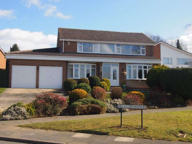 4 Bedrooms Detached House for sale in Hillclose Avenue, Darlington