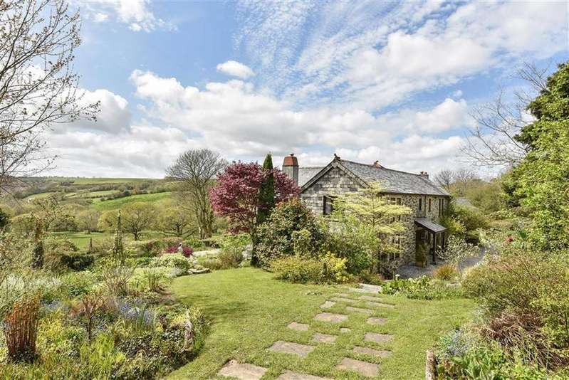 4 Bedrooms Detached House for sale in Mount, Bodmin, Cornwall, PL30