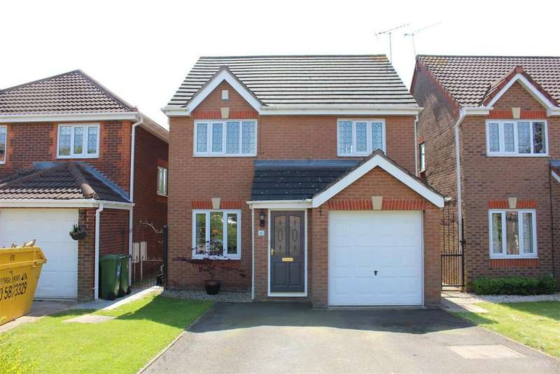 3 Bedrooms Detached House for sale in Geary Close, Narborough, Leicester