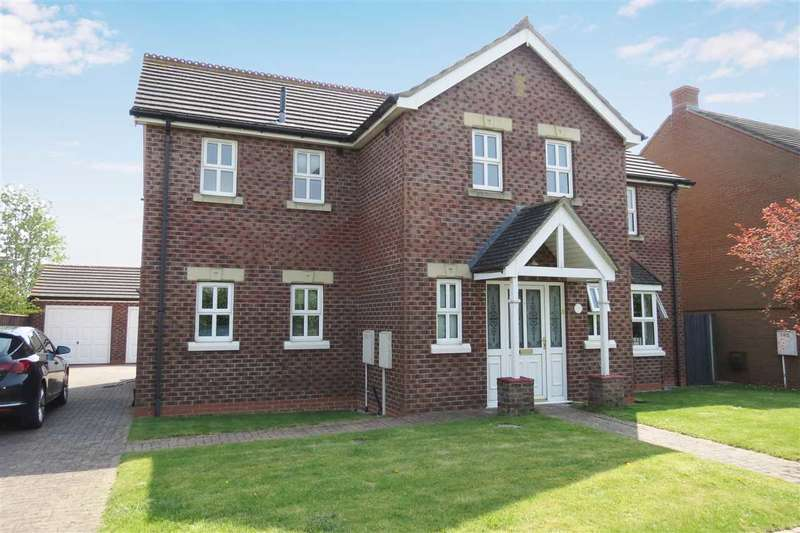 4 Bedrooms Detached House for sale in Spireview, Quarrington