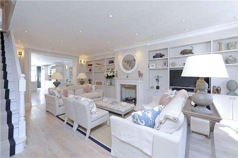 5 Bedrooms Terraced House for sale in Beltran Road, Fulham, London, SW6