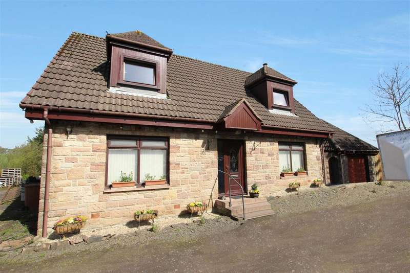 4 Bedrooms Detached House for sale in Bush Cottage, Wester Dechmont, Broxburn