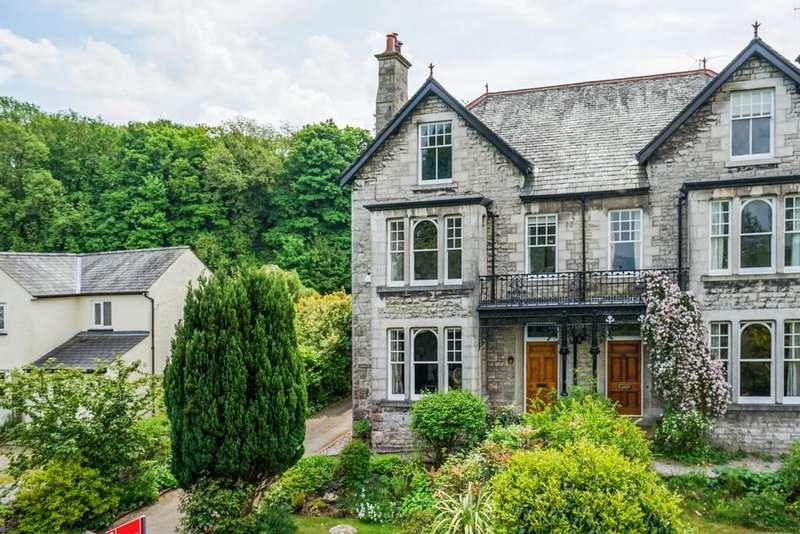 5 Bedrooms Semi Detached House for sale in Langholm, 27 Redhills Road, Arnside, Cumbria, LA5 0AR