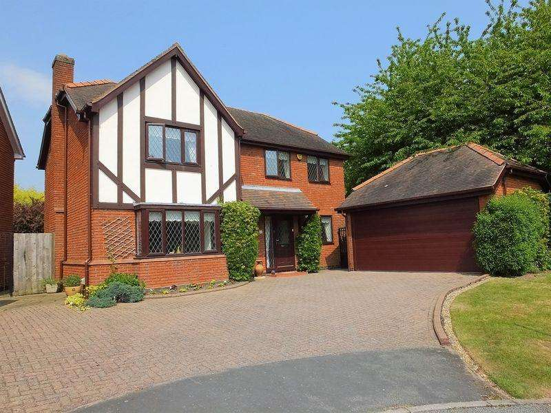 4 Bedrooms House for sale in Oakwood Close, Shenstone, Lichfield