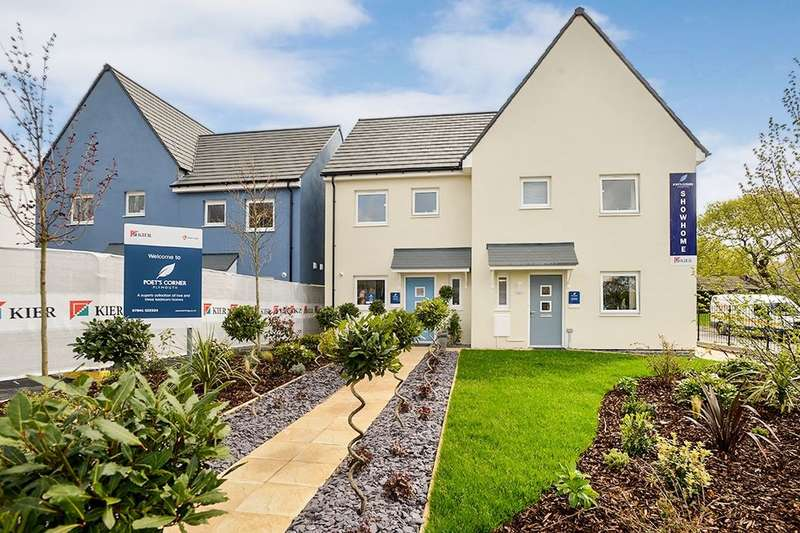 2 Bedrooms Semi Detached House for sale in Poets Corner, Manadon, Plymouth, PL5
